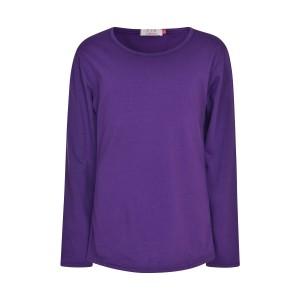 girls-purple-plain-long-sleeve-kids-top-children-crew-neck-t-shirt
